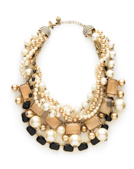 Kate Spade /Pearl Street Statement Necklace: