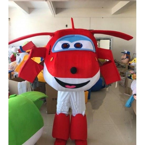 Superfly 2020 Costume Halloween Super Wings Mascot Costume Super fly man Mascote Costume