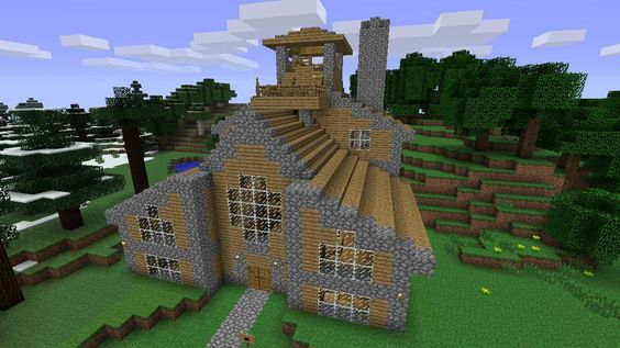 how to make a house in minecraft xbox 360