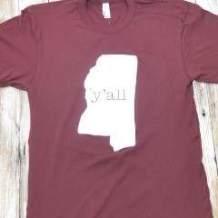 Deep South Pout — Mississippi Ya'll T-Shirt