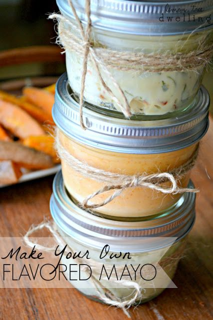 6 Flavored Mayo Recipes ~ The Perfect Dipping Sauce for French Fries, Breads, and Crackers.
