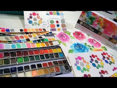 Posts About Mungyo Vs Prima Watercolor Written By Thefrugalcrafter