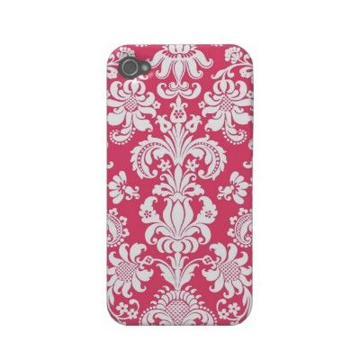 DAMASK iPhone 4/4S Cases Iphone 4 Case-mate Cases by Madisyn Nicole