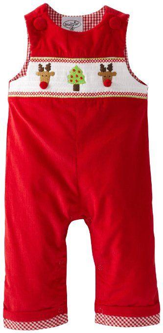 Amazon.com: Mud Pie Baby-Boys Newborn Corduroy Smocked Longall: Clothing
