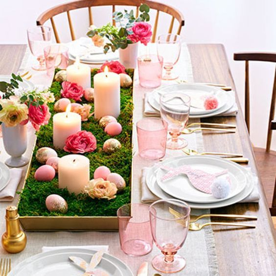 Easter Home Decor Ideas Easter Centerpieces Easter Table