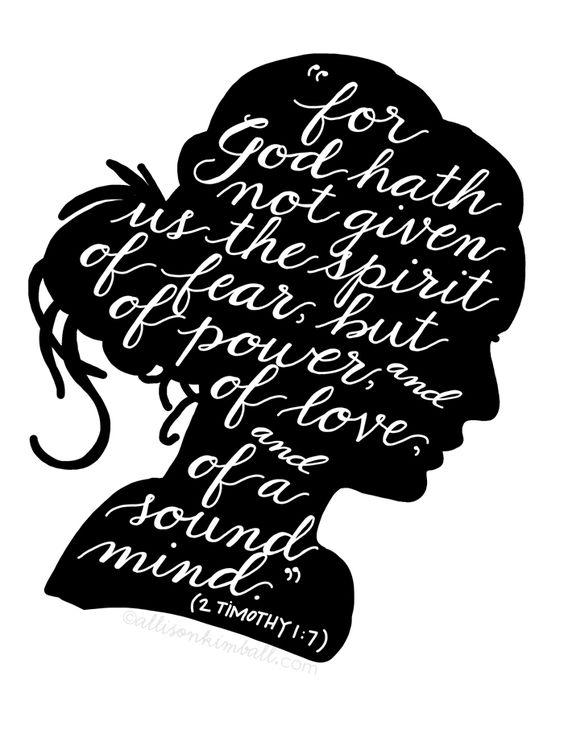 2 Timothy 1:7: