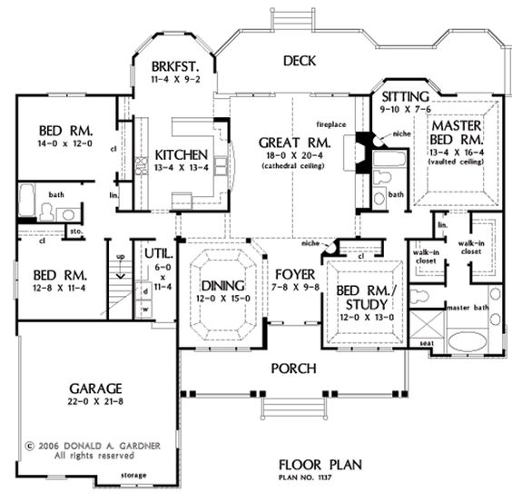 Ooooo yes plz nice ranch house layout except i would for Nice floor plans