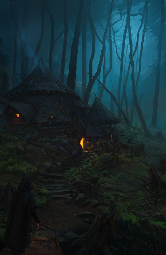 Forest Hut by Tory Miles