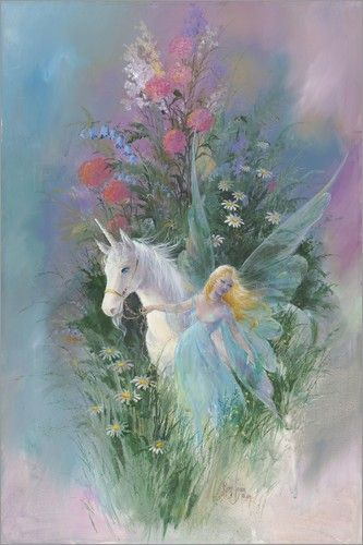 Mimi Jobe - Meadow Fairy & Unicorn