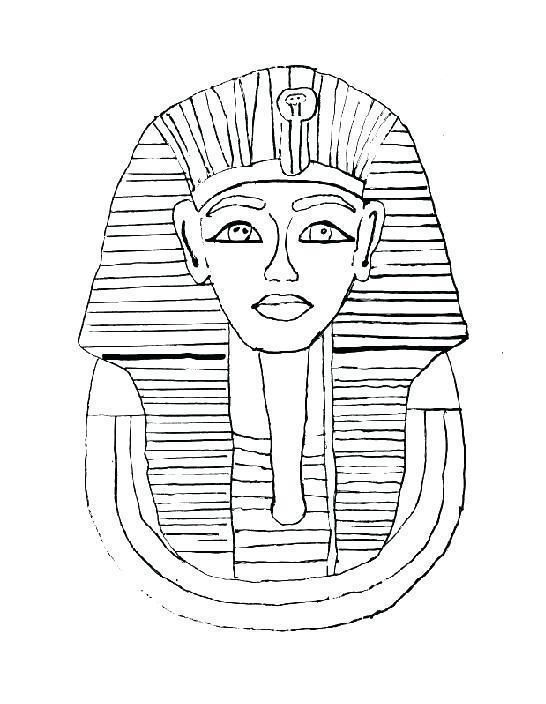 King Tut Coloring Page Free Coloring Page Coloring Pages