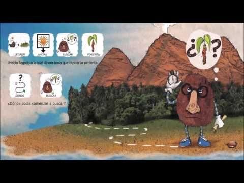 Cuento infantil EL OLEDOR EXPLORADOR con pictogramas - YouTube