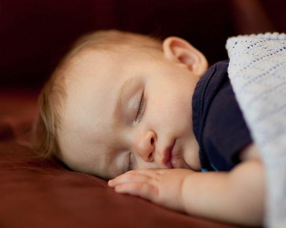 Sound asleep ...