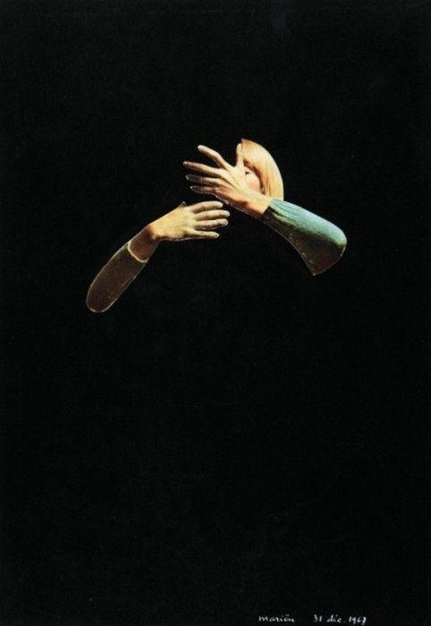 L'oubli d'être en vie (olvidarse de estar vivo) - Marcel Mariën -