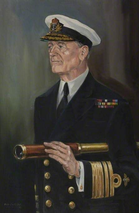 Vice Admiral Sir Donald Gibson (1917–2001), KCB, DSC