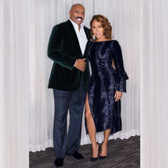 Steve and Marjorie Harvey