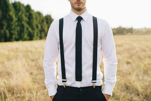 #Bräutigam: #Hosenträger - ein lässiger Hingucker