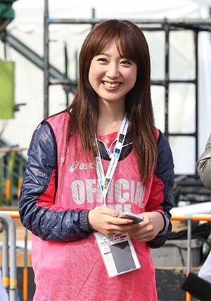 川田裕美アナウンサーのスポーツウェア