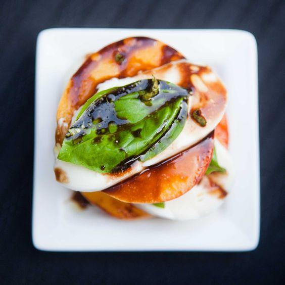 Teacher Chef: Grilled Peach & Mozzarella