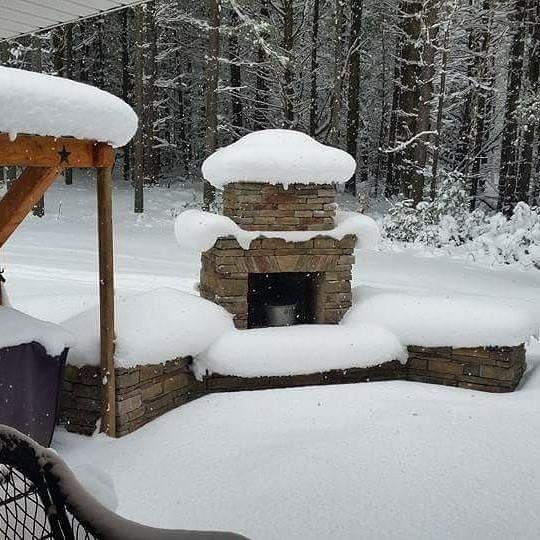 Backyard Lighting Your Diy Outdoor Fireplace Headquarters Outdoor Fireplace Diy Outdoor Fireplace Diy Outdoor