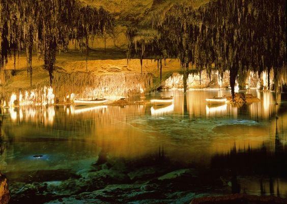 Las cuevas del Drach en Mallorca