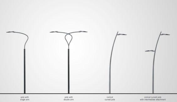 Éclairage routier LED : Archilede HP - Application sur mât iGuzzini