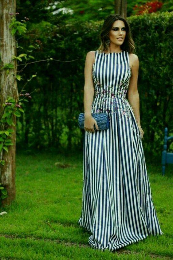 Falando em moda: Vestidos longos para o Verão!