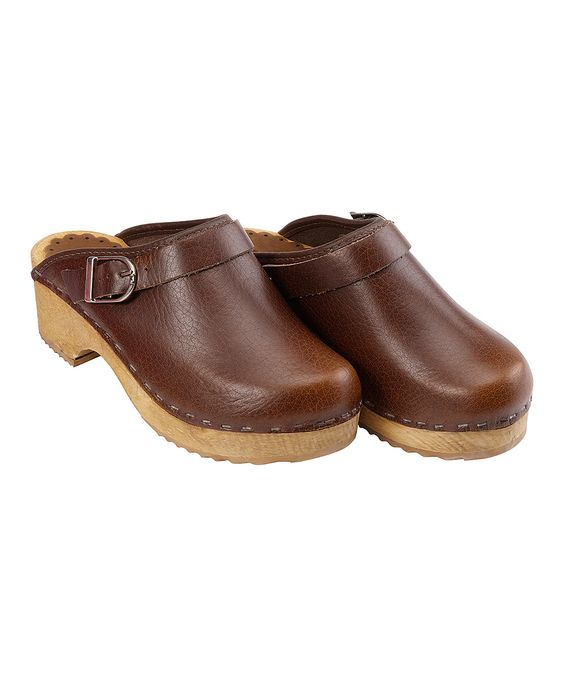 Brown Classic Swedish Clogs from Hanna Andersson