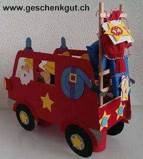 Adventskalender Feuerwehrauto Feuerwehr                              …