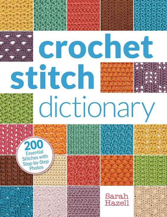 Crochet Stitch Dictionary: 200 Essential Stitches with Step-by-Step Photos by Sarah Hazell, published by Interweave/F+W: Book Review | www.thestitchinmommy.com