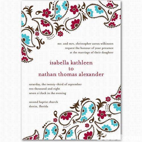 Hindu Engagement Invitation images My wedding ideaa Pinterest - engagement invitation cards templates