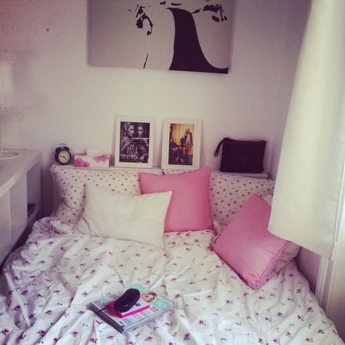 Cute idea for room to block off your bed and make it extra cozy  Pinterest. How To Make A Beautiful Bedroom