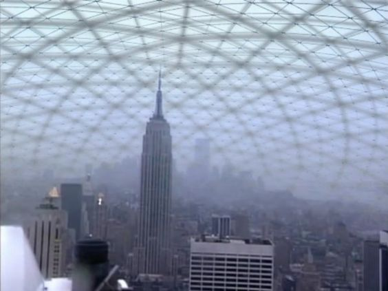 The Manhattan That Never Was:  The Empire State Building under Bucky Fuller's Geodesic Dome