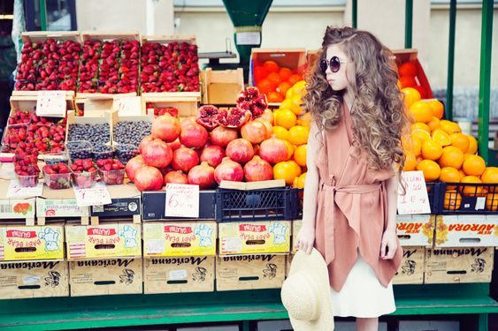 Photoshoot for River Island. Model Hanna. Shot at Riga's Central market. AD and style Kirsi Altjoe www.sandinyourshortskidsblog.com photo Marjaana Vaher / muah Lembe Lemmiksoo