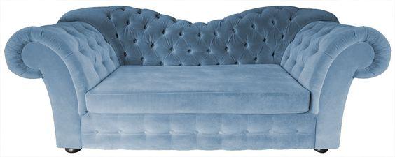 Chesterfield Sofa Madame mit Bettfunktion
