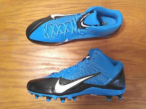 NEW Nike Alpha Pro TD PF Carolina Panthers Football Cleats 622306 ...