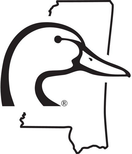 6 inch mississippi ducks unlimited decal sticker awesome