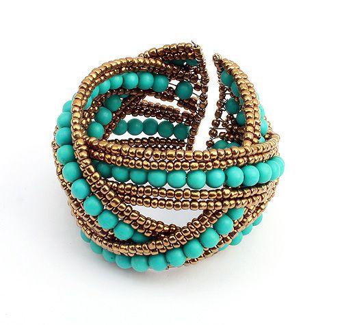 Ivana Bohemian Cuff from LilyFair Jewelry.