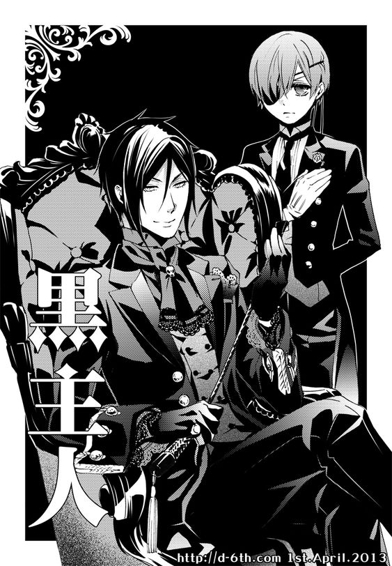 Yana Tobaso's April Fool's Day prank. (Via Google Translate) She wrote that there would be a new Black Butler and that Ciel would be serving Sebastian. Haha, that would be too funny if it were true.