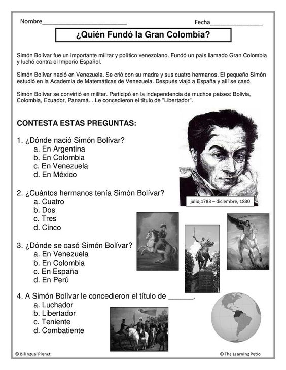 Continuing our biografías  Subscription gives access to all of them  www.thelearningpatio.com