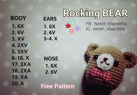 Rocking bear