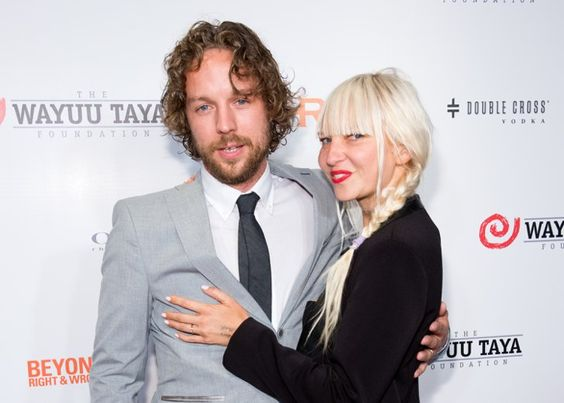 Pin for Later: All the Celebrities Who Came Down With Wedding Fever in 2014 Sia and Erik Anders Lang