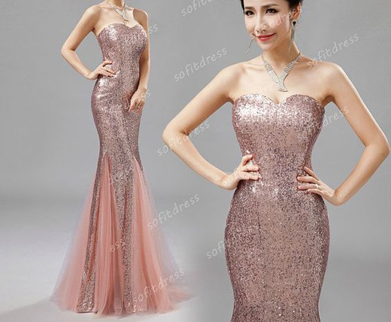 affordable prom dress sequin prom dresses mermaid by sofitdress, $226.00