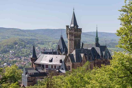 Burgen Und Schlosser Im Harz Burg Schloss Wernigerode Reisen