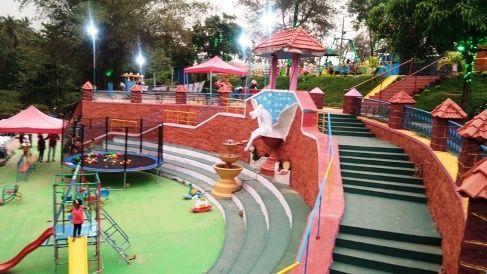 Jalakeli Kids Park In Kollam Beach Children Park Kollam Beach