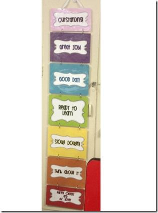 Behavior Clip Chart... go to article to hear about bedazzling the clothes pin: so clever! $
