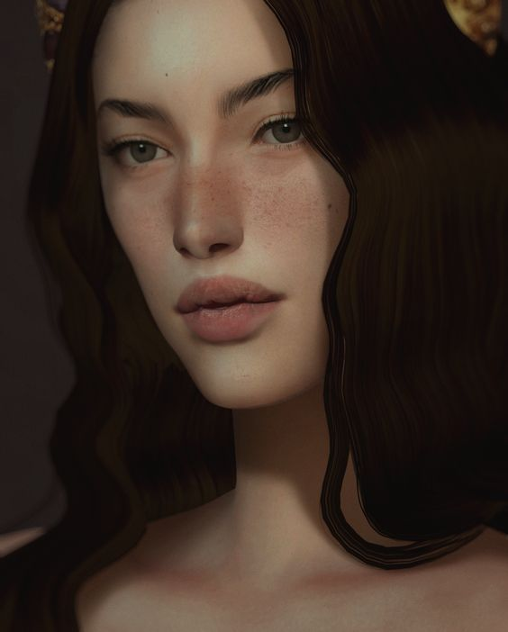 testing new wip eyes by @sims3melancholic (¬‿¬ )