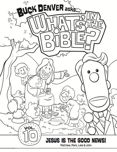 buck denver christian coloring pages - photo#3
