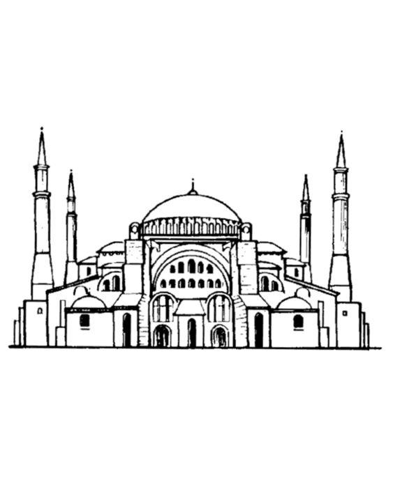 Ayasofya Camiler Resim