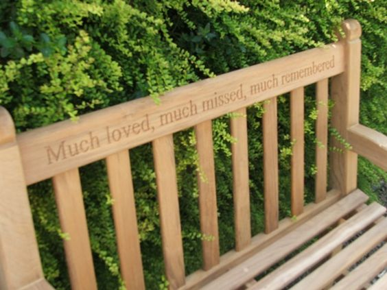 Gardens Memorial gardens and Search – Memorial Garden Bench