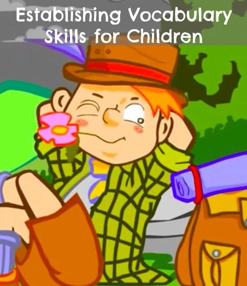 Song for #Kids - Helping to establish Vocabulary Skills